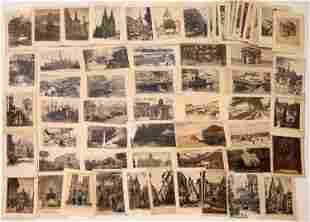 Etched Postcards Group from the Ken Prag Collection