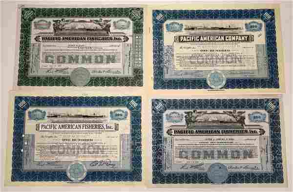 Pacific American Fisheries, Inc. Stocks - 4 [135635]