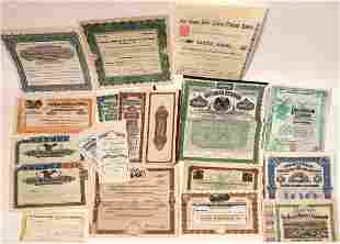 Mexican Companies Stock Certificates [132661]