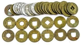 Dealer Lot of Woodland Tokens [136769]
