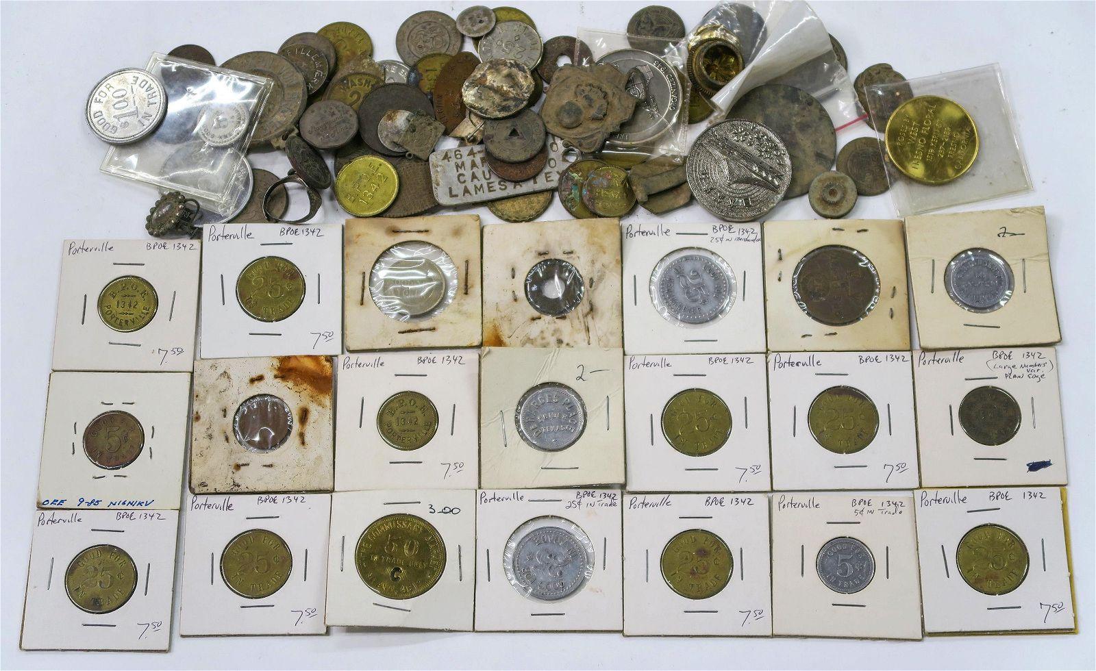 Miscellaneous Token Collection [136405]