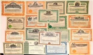 Stocks, Bonds & Bank Certificates