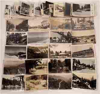 Southern California RPPC Postcard Lot (70) [141143]