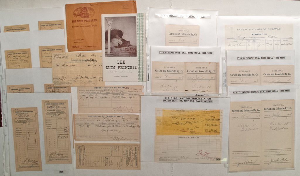 Carson & Colorado documents
