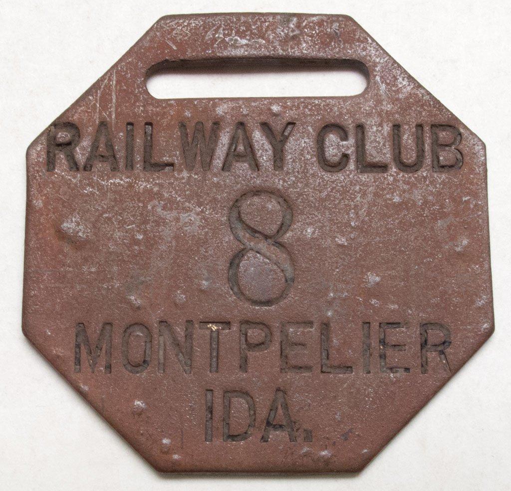 RARE Idaho railroad key check