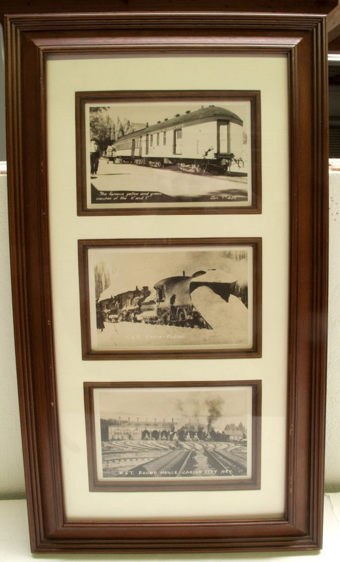 Virginia & Truckee Railroad framed pictures