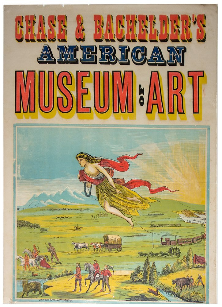 American Museum of Art Lithograph