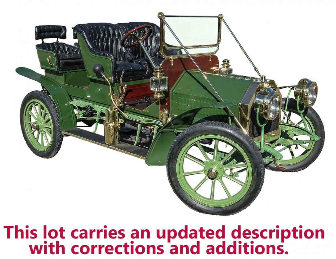 1907 Touring Cadillac, Model G, Factory Custom, Fully