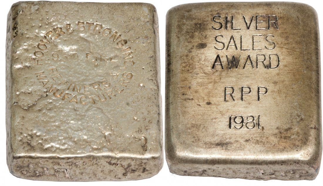 Hoover and Strong Inc. Ingot 1