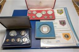 Virgin Islands and Bahamas Proof Silver Medal Sets