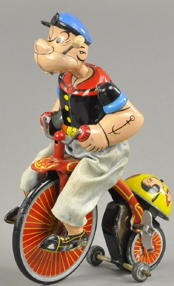 LINEMAR POPEYE ON TRICYCLE