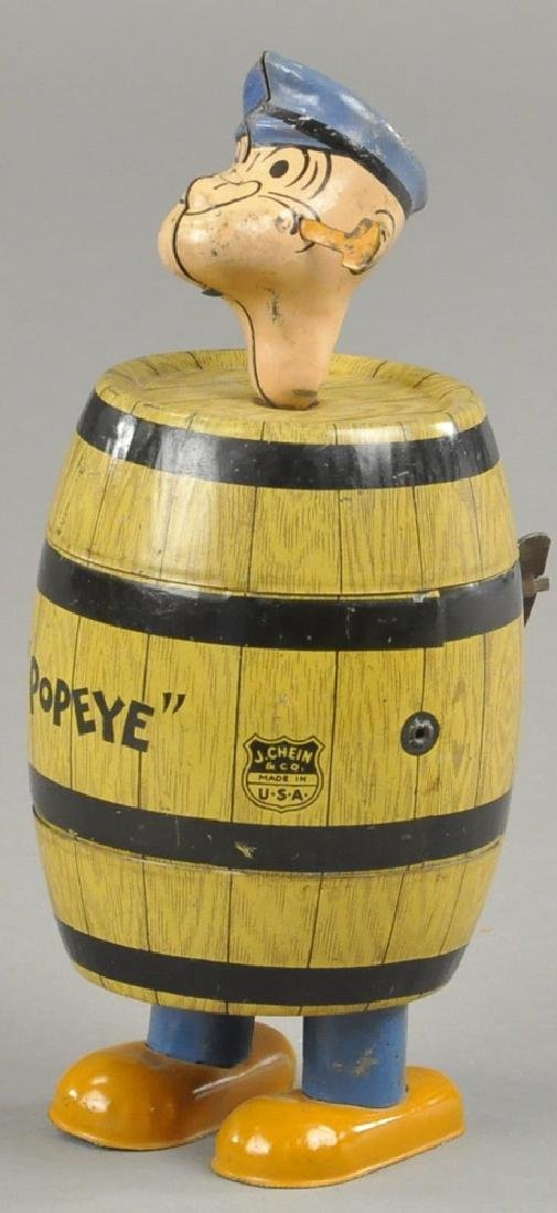 CHEIN POPEYE IN BARREL