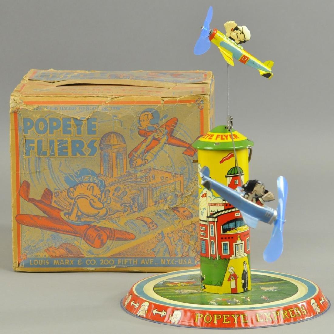 BOXED MARX POPEYE FLIERS