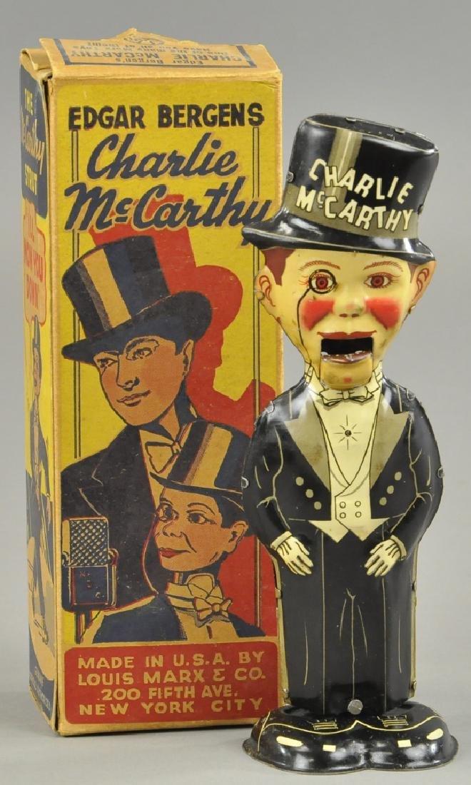 BOXED MARX CHARLIE MCCARTHY WALKER