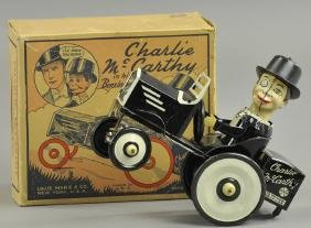 BOXED MARX CHARLIE MCCARTHY BENZINE MOBILE