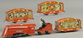 LIONEL MICKEY MOUSE CIRCUS TRAIN
