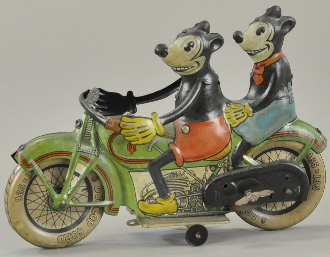 TIPPCO MINNIE & MICKEY MOTORCYCLE