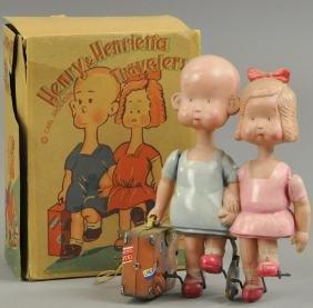 HENRY & HENRIETTA TRAVELERS IN ORIGINAL BOX