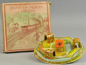 BOXED MARX HONEYMOON EXPRESS - YELLOW