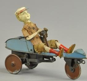 "VICTOR BONNET ""SKIFF"" BOY IN GO CART"