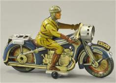 ARNOLD SEARCHLIGHT MOTORCYCLE