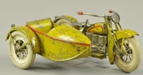 MODERN TOY LAB CYCLE WITH SIDECAR