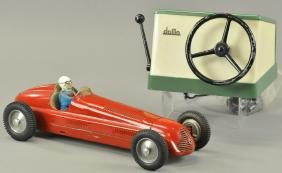 """DOMO"" RED MASERATI RACE CAR"