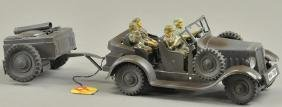 HAUSSER ARMY TRUCK AND TRAILER