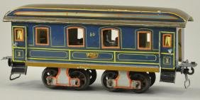 MARKLIN GAUGE 1 BLUE DINING CAR