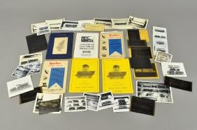 GROUPING OF BOUCHER AND VOLTAMP CATALOGS AND PHOTO