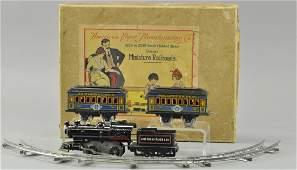 BOXED AMERICAN FLYER BO TRAIN SET