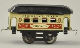 AMERICAN FLYER CHICAGO PASSENGER CAR