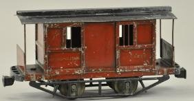 "LIONEL #900 2 7/8"" METROPOLITAN JAIL CAR"
