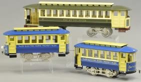 REPRODUCTION LIONEL TROLLEYS