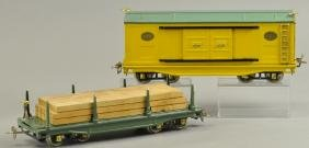 LIONEL & IVES 191 & 192 FREIGHT CARS