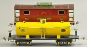 LIONEL & IVES 190 & 195 FREIGHT CARS