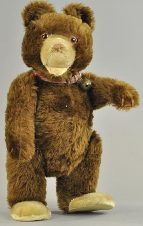BROWN STEIFF TEDDY BEAR