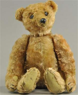 STEIFF ROD TEDDY BEAR WITH ELEPHANT BUTTON