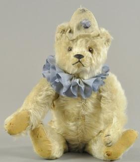 STEIFF CLOWN TEDDY BEAR