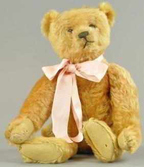 STEIFF APRICOT TEDDY BEAR
