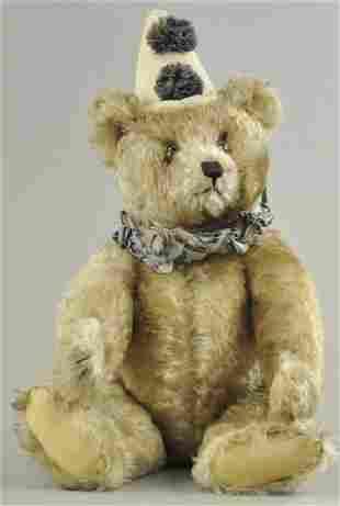 LARGE STEIFF CLOWN TEDDY BEAR