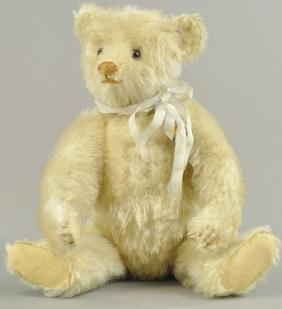 STEIFF WHITE TEDDY BEAR