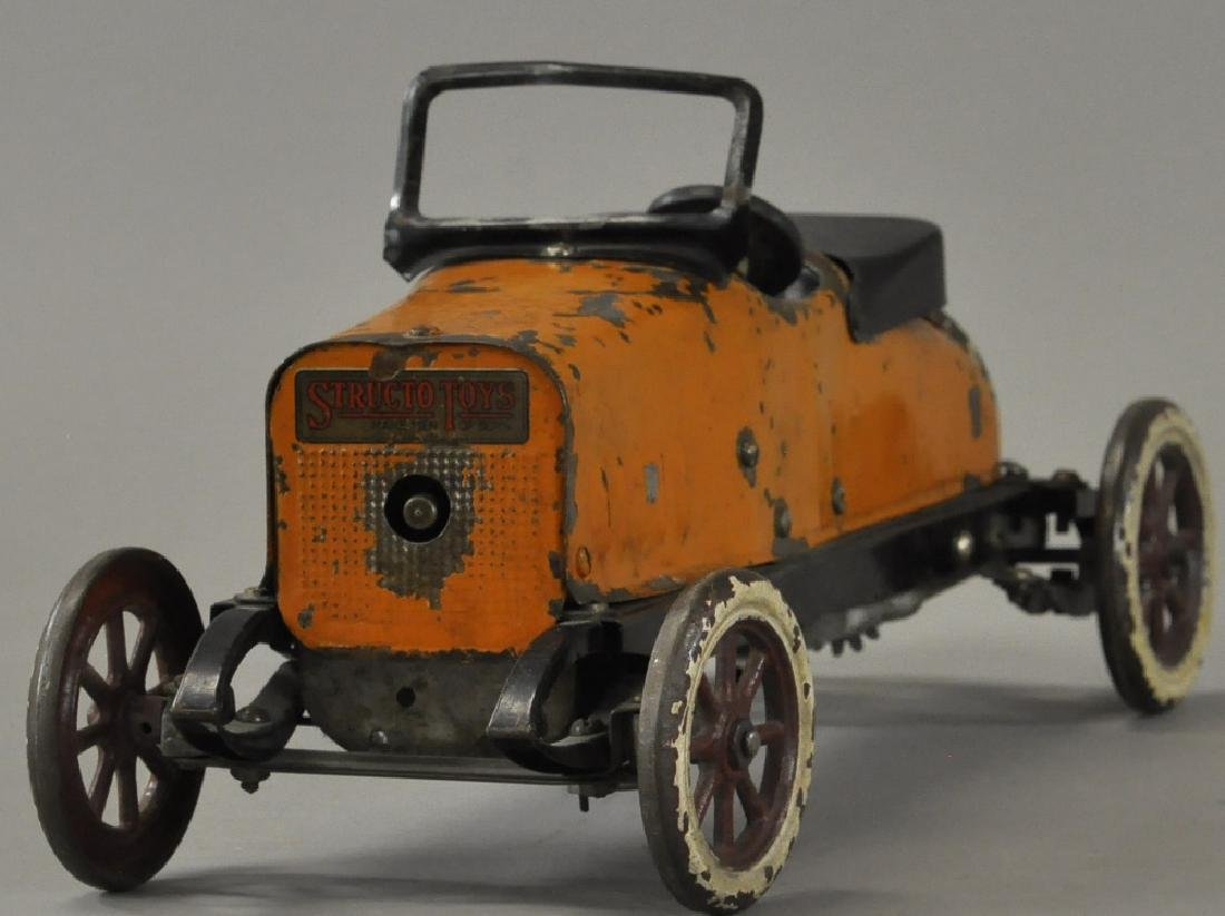 STRUCTO TOYS ROADSTER - ORANGE