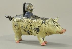 Bismark Pig Mechanical Bank