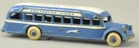 ARCADE GREYHOUND LINES PASSENGER BUS