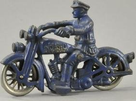 HUBLEY HARLEY DAVIDSON POLICE MOTORCYCLE