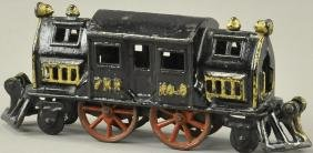HUBLEY CAST IRON NO. 6 LOCOMOTIVE