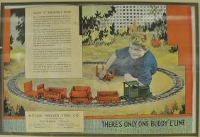 THERE'S ONLY ONE BUDDY 'L' LINE