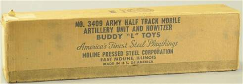BOXED WOOD BUDDY L UTILITY UNIT W CANNON