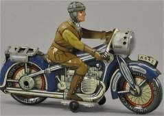 ARNOLD MOTORCYCLE WITH HEADLIGHT